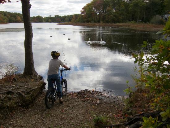 Rhode Island: Taking a break to enjoy the view