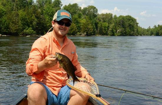Grand Lake Stream, ME: Smallmouth on the lake