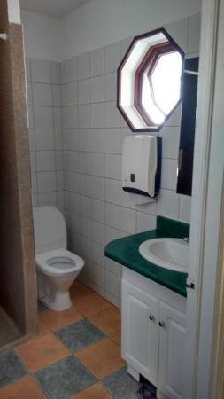 Hotel Vogar: WC compartido
