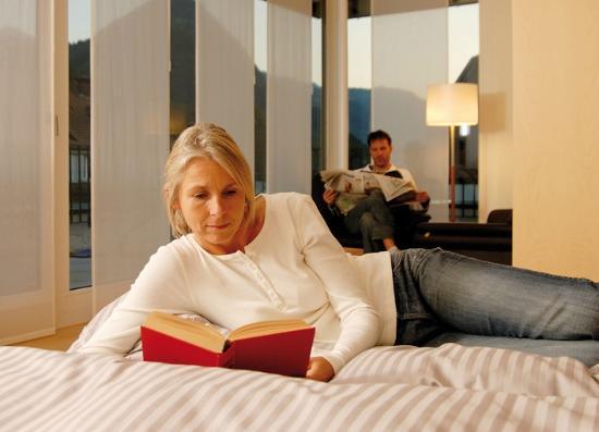 Artos Interlaken : Entspannen in der Juniorsuite