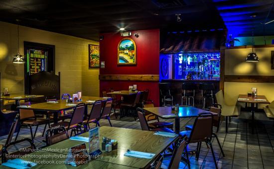 Mi Pueblito Mexican Restaurant Nice Bar