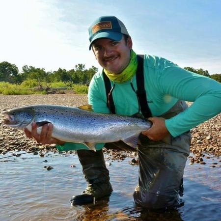 Margaree Forks, Kanada: 12 lb Atlantic Salmon
