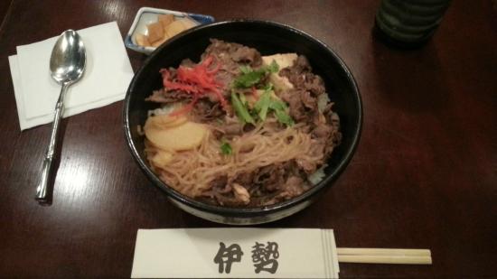 ISE Restaurant: すき焼き丼