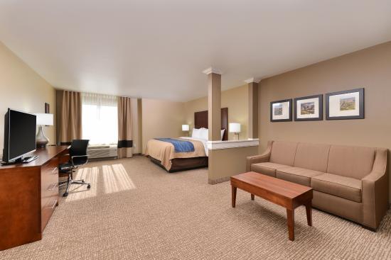 Comfort Inn Amp Suites Mandan Bismarck Nd Omd 246 Men Och