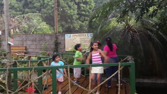 Ticuantepe, Nicaragua: En el Mariposario