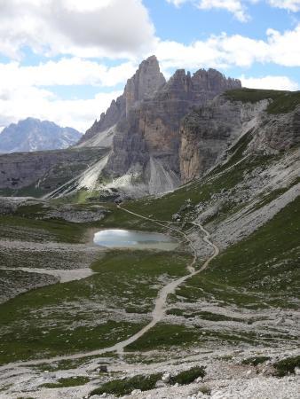 Tre Cime di Lavaredo: 104 after Büllejochhütte