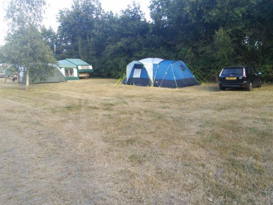 Camping Le Fief Angibaud : Large pitches