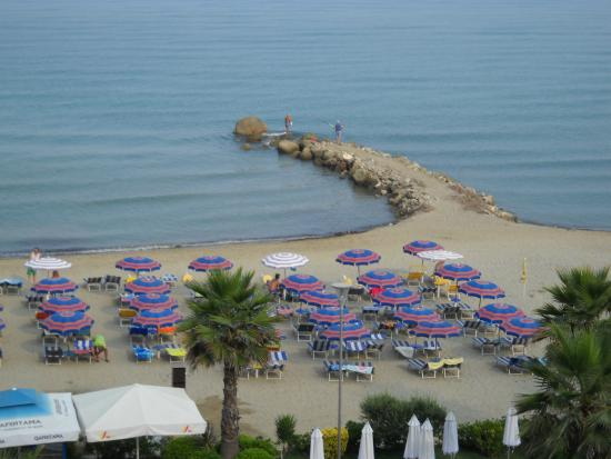 Fafa Resort: Widok z balkonu
