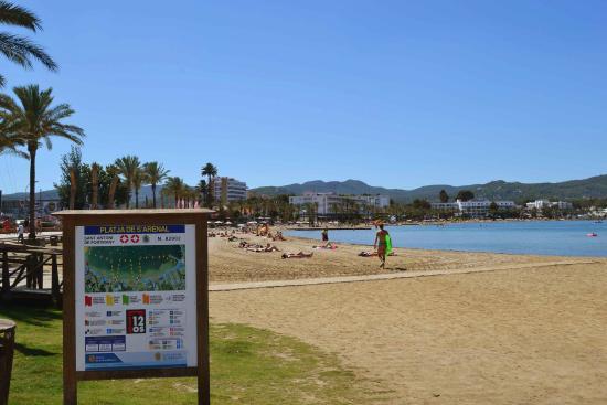 Platja de S'Arenal : Playa de s'arenal