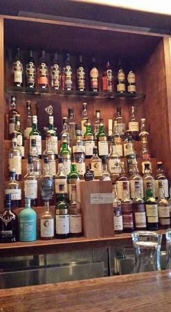 Allen's Restaurant On Danforth: Single malt selection