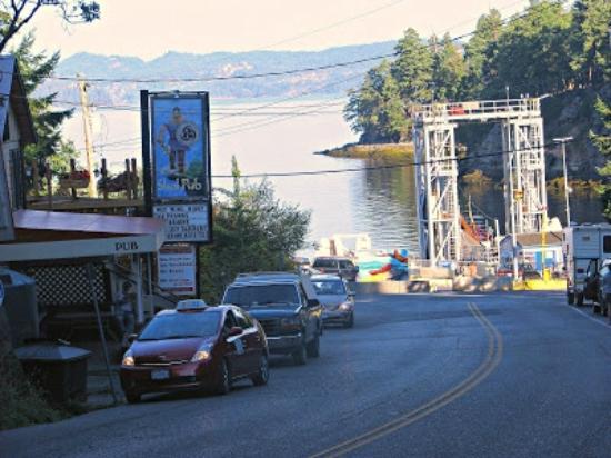 Gabriola Island, Canada: Gabriola Ferry terminal