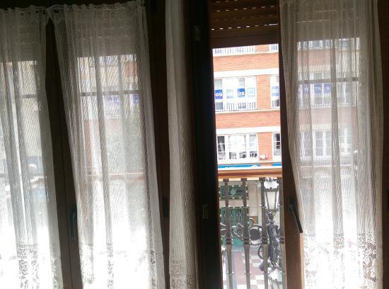Hostal Romero: Balcón