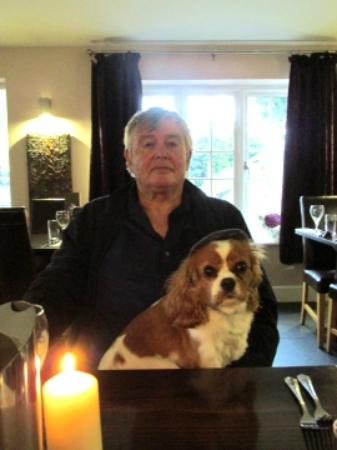 The Culbone: Lee & Coco awaiting a masterpiece meal.
