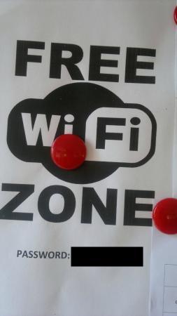 Hotel Paglierani: WiFi