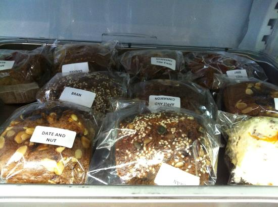 Carlucci's : The healthy muffins to take away