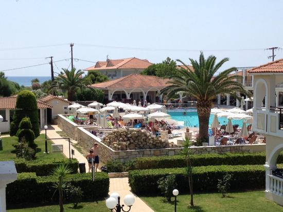 Marelen Hotel: View from balcony one side