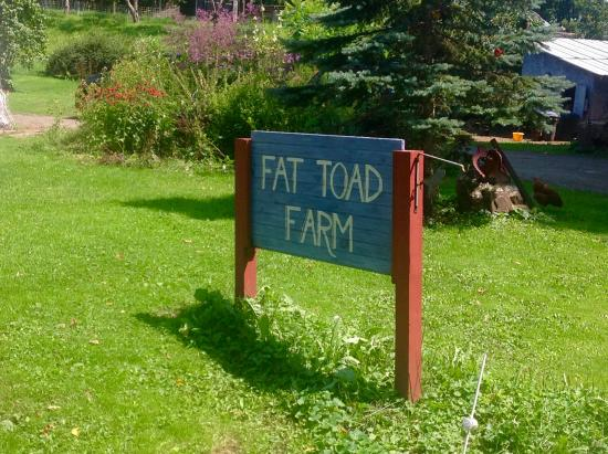 Brookfield, VT: Luckily the sign showed we were in the right place
