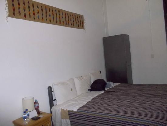 Mexico City Hostel: HABITACION DOS CAMAS MATRIMONIAL