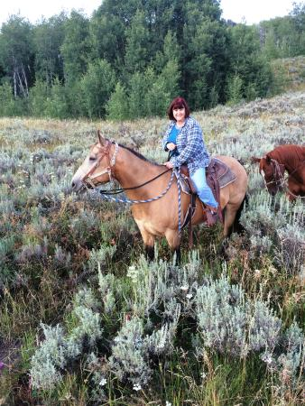 Parade Rest Ranch: Me on horseback