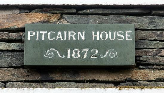 Pitcairn House: The date the house was built