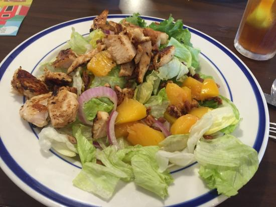 Bob Evans: summer peach chicken salad