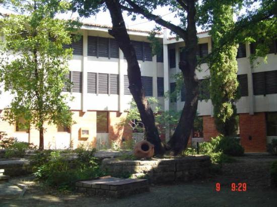 Preslav Hotel: Interior garden