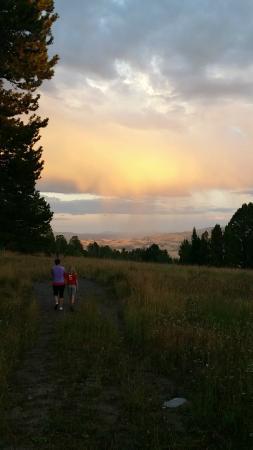 Crevice Mountain Lodge: Views