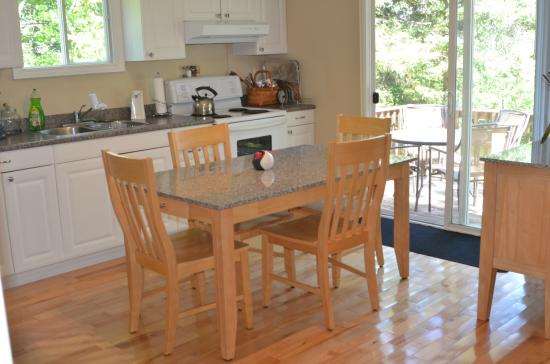 Indian Brook, Canada: new 2-bedroom dining/kitchen area