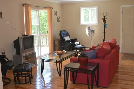 Indian Brook, Canada: new 2-bedrm. house living area