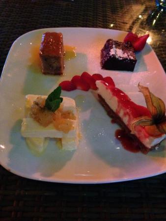 The Rising Sun Thai & Pan-Asian: Exquisite desserts