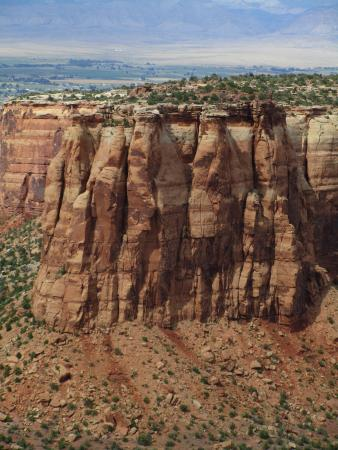 Grand Junction, Kolorado: Colorado National Monument above Redlands Mesa