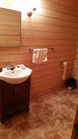 Camp Morton Provincial Park: bathroom