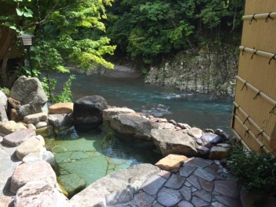 Kamigoten: 露天風呂からの景色1