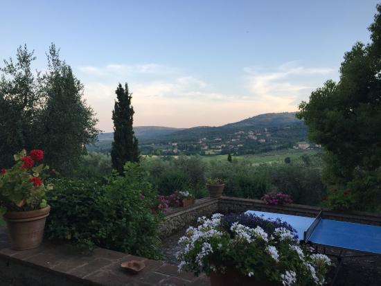 Ecco La Cucina: View from our villa.