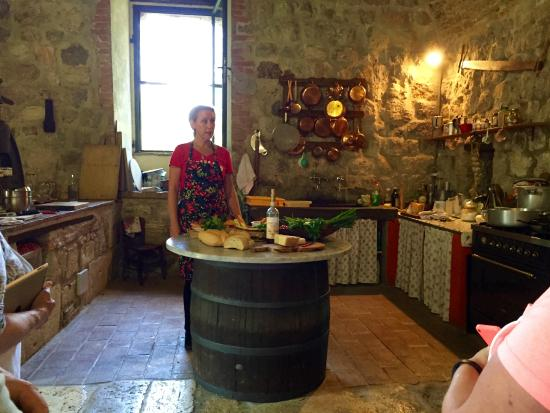 Ecco La Cucina: Cooking lesson in the 900 year old mill
