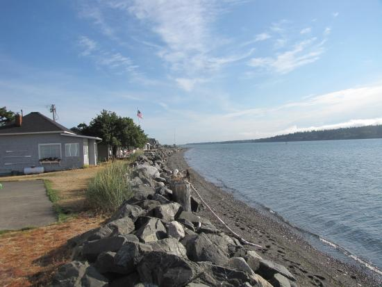 Lummi Island, WA: A great beach to walk on
