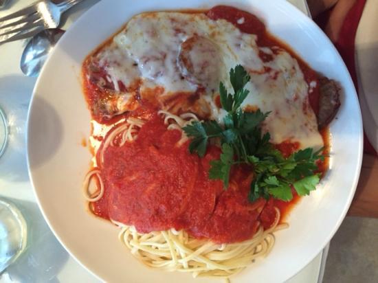 Rollatini: Sausage Parmigiana