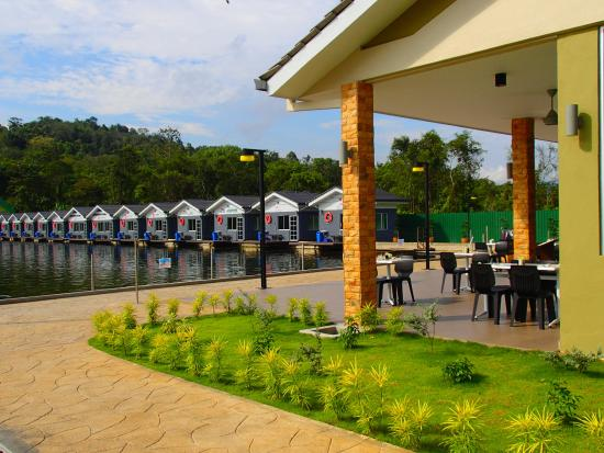 Hulu Langat District, Μαλαισία: Restaurant rear view