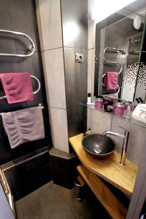 Hotel des Allees: Salle de bain