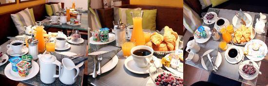 Hotel des Allees: Petot déjeuner