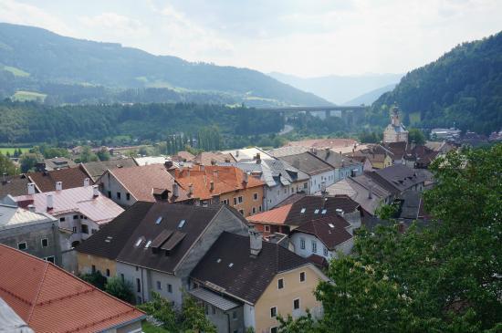 Alte Burg: view from restaurant