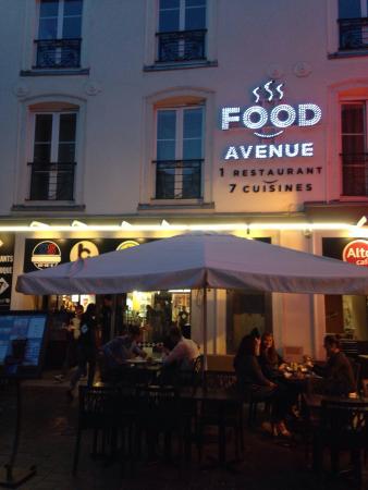 Food avenue reims restaurant avis num ro de t l phone for Salon du fast food