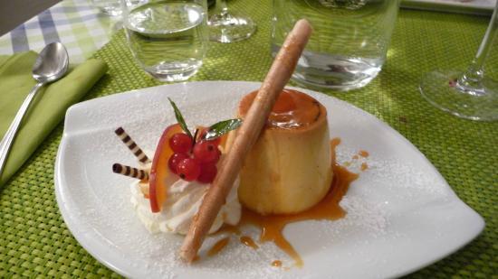 Gasthof Gyrenbad: Dessert Kunst