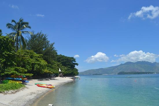 the beach front Picture of Camayan Beach Resort and Hotel Subic