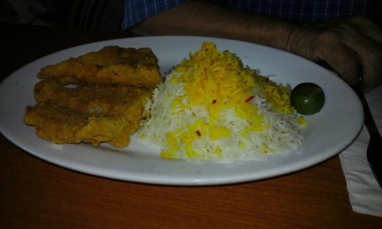 Persia Restaurant: excellent fish