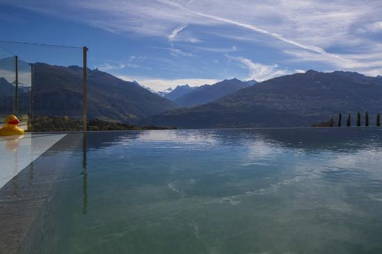 Saviese, Suíça: Vue magnifique