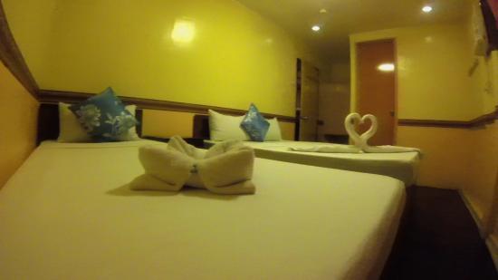 Sea Coral Lodge : Triple Room