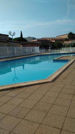 Les Jardins de Neptune : la piscine