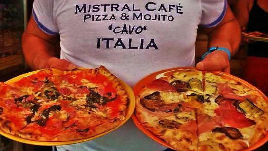 Mistral Cafe: juorno buono e salsiccia e friarielli