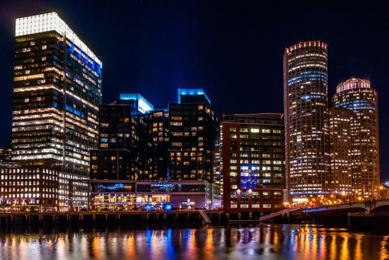Intercontinental Boston At Night